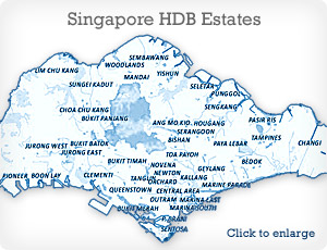 HDB Estate Map